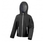 R224J0306 - Result•JUNIOR HOODED SOFT-SHELL JACKET